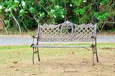 скамейка в парке — Стоковое фото