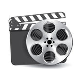 Vector film reel — Stock Vector