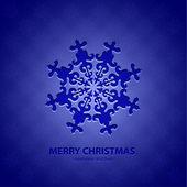 Vector Christmas background — Stock Vector