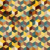 Pozadí abstraktní mozaika — Stock vektor