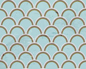 Vintage retro wallpaper — Stockvector
