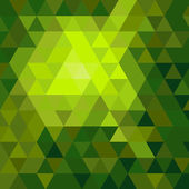 Shiny green mosaic background — Vector de stock