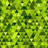 Zielona mozaika streszczenie tło — Wektor stockowy