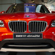 Stock Photo: BMW X1 xDrive25d closeup