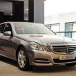 New model Mercedes-Benz E 200 CGI — Stock Photo #24733763