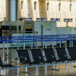 Постер, плакат: Nobody in international airport of Israel on Saturday Shabbat