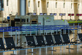 Nobody in international airport of Israel on Saturday (Shabbat) — Stock Photo