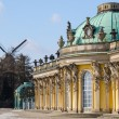 Royal palace Sanssouci in Potsdam — Stock Photo