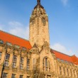 Rathaus Charlottenburg - administrative building in the Charlott — Stock Photo