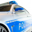 New modern model of German police city patrol car — Stock Photo