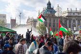 Anti-war meeting action in Europe — Stock Photo