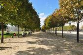 Herfst in parijs — Stockfoto