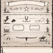 Vector de stock : Design Elements Wild West