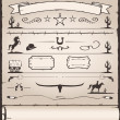 Design Elements Wild West — Stock vektor #14329759