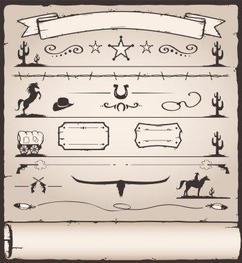 Design Elements Wild West