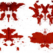 Stock Photo: Rorschach Set