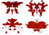 Rorschach Set — Stock Photo