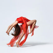 The dancer — Foto Stock