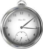 Kapesní hodinky — Stock vektor