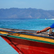 Stock Photo: Indonesiboats with sailors