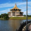 Borneo kuching parliament — Stock Photo