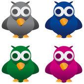 Cuckoo bird — Stock Vector