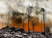 After apocalypse — Stock Photo
