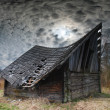 Old hayloft — Stock Photo