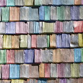 Colored shingles — Stock Photo