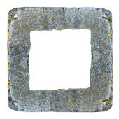 Frame of concrete kerb — Stock Photo