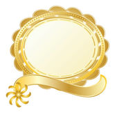 Gold stamp — Stock Vector