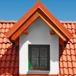 Stock Photo: Roof with clay tiles