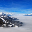 High mountains above clouds — Stock Photo #41375179