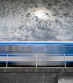 Speeding train — Stock Photo