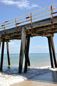 Grange Jetty Pylons, South Australia — Stock Photo