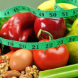 Healthy Weight Loss Diet (Vertical) — Stock Photo