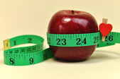 New Year Resolution Goal Lose Weight Concept. Close-up — Foto Stock