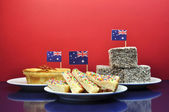 Australia Day Party Food — Stock Photo