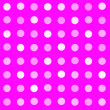 Hot fuchsia pink seamless polka dot pattern background — Stock Photo