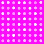 Hot fuchsia pink seamless polka dot pattern background — Stock Photo