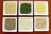 Gluten free grains for healthy diet food — Stock Photo