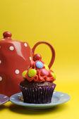 Cupcakes candy colorido brilhante — Fotografia Stock