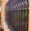 victorian fence — Stock Photo