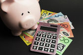 Money management and savings investment concept — Stock Photo