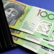 Australian Hundred Dollar Notes — Stock Photo