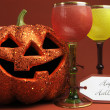 Halloween party drinks — Stock Photo