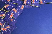 абстрактный фон австралийских флагов — Стоковое фото