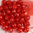 Red Maraschino Cherries — Stock Photo