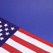 USA Stars and stripes flag close up for background, travel or holiday & events — Stock Photo #34971545