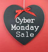 Cyber Monday shopping sale — Stock Photo